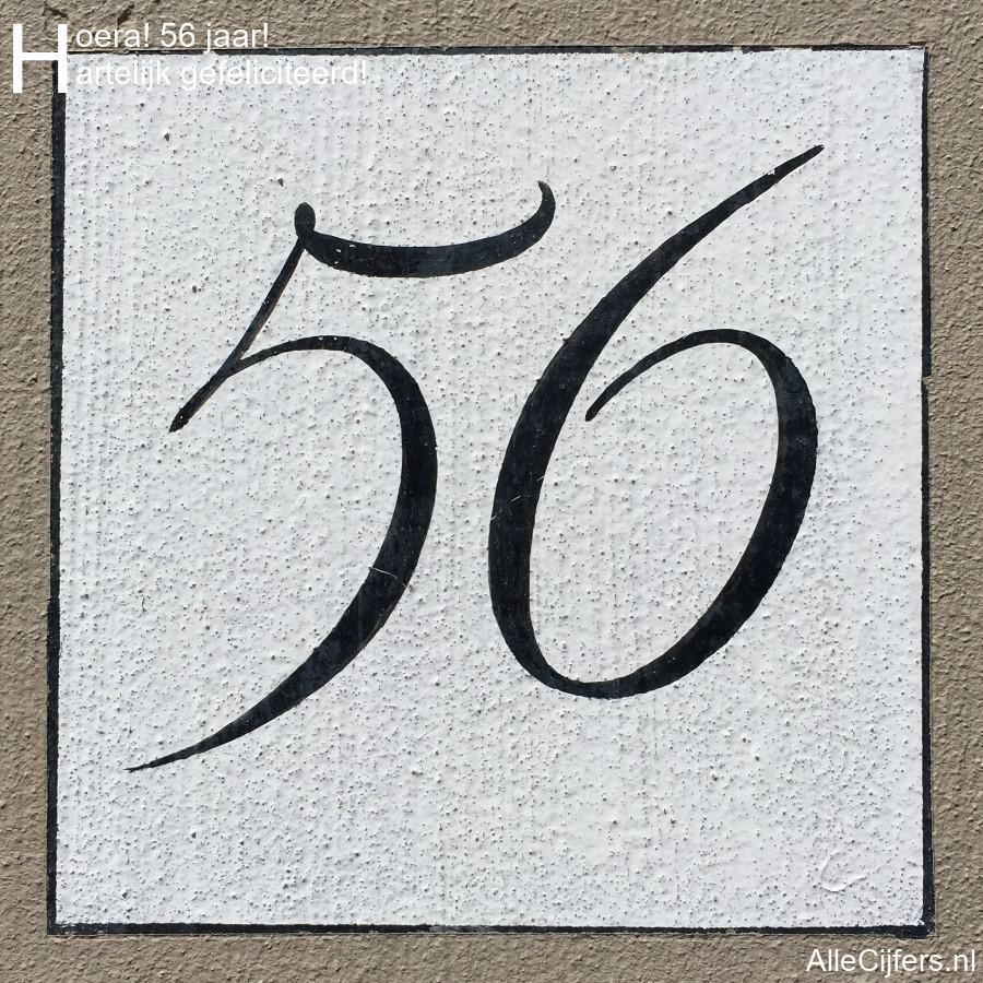 Verjaardag 56.Hoera 56 Jaar Felicitatie Afbeelding Update 2019