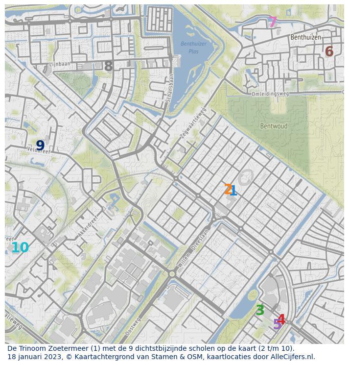 Heel Veel Info Over Basisschool De Trinoom In Zoetermeer Update