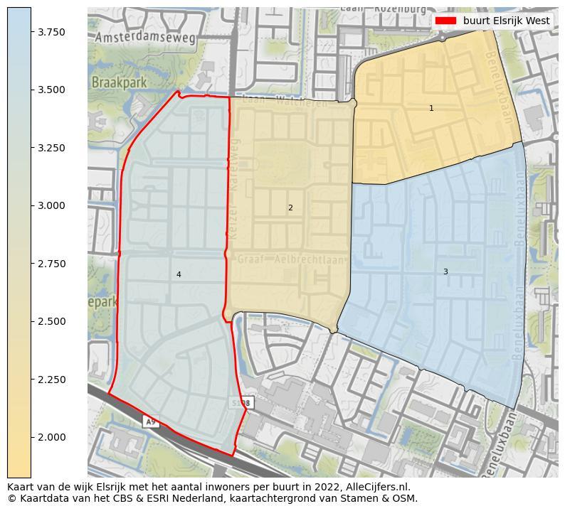 Heel Veel Informatie Over Elsrijk West Update 2020 Allecijfers Nl
