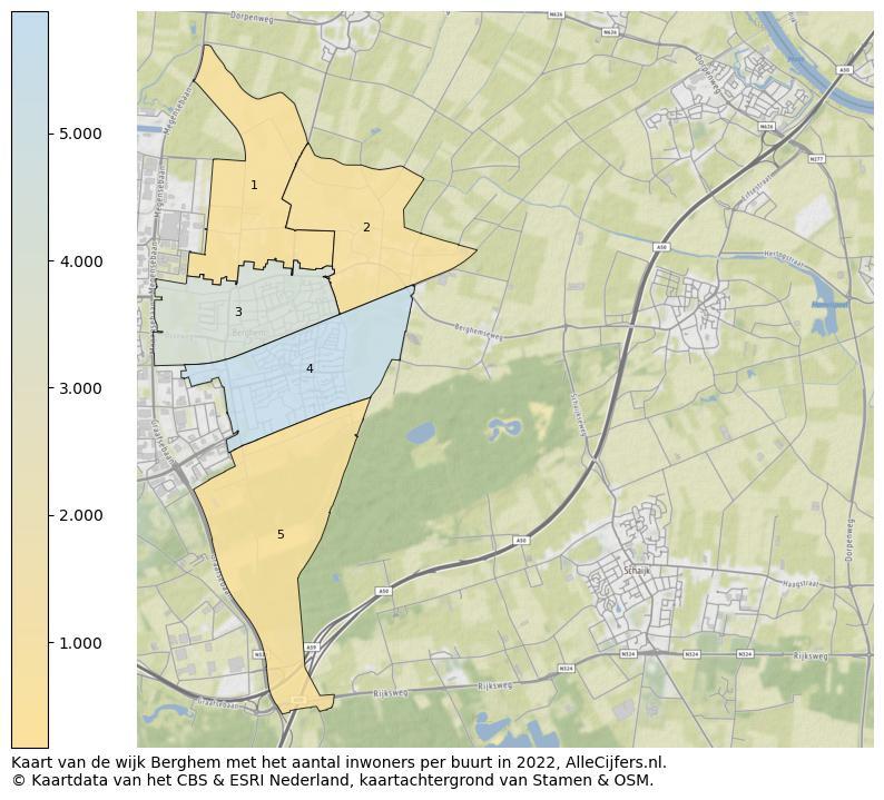 Heel Veel Informatie Over Wijk Berghem Update 2020 Allecijfers Nl